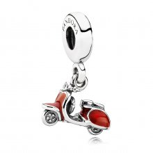 Charm con Pendente Scooter - Pandora IT