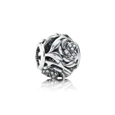 Openwork in Pavé Magia Floreale - 791419CZ - Charm | PANDORA