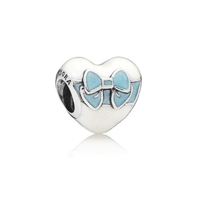 Charm PANDORA White Day Love in argento