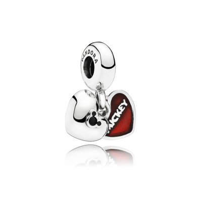 Disney, Charm Pendente Mickey Mouse & Minnie - Pandora IT
