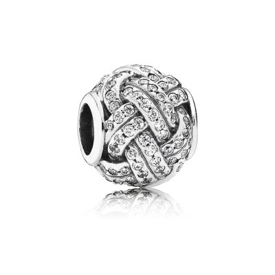 Charm Nodo d'Amore Brillante - Pandora IT