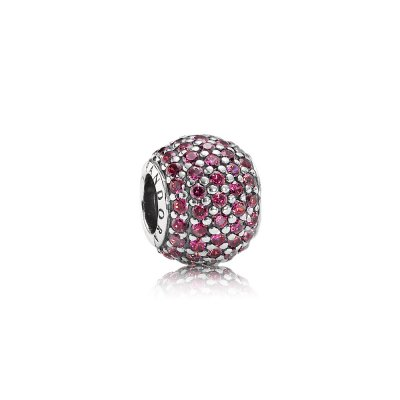 Charm Sfera in Pavé Rossa - Pandora IT