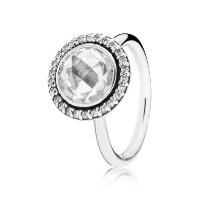 Anello cocktail in argent