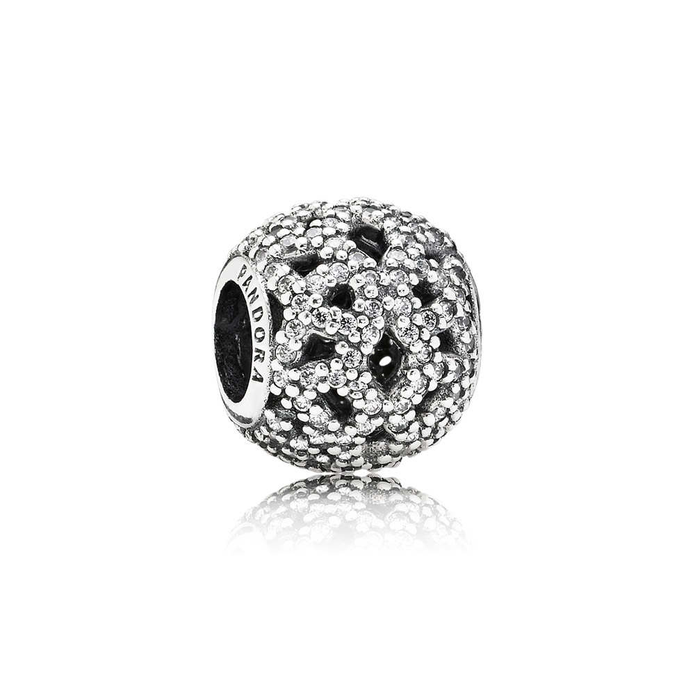 Charm Openwork Pizzo Luccicante - 791284CZ - Charm | PANDORA